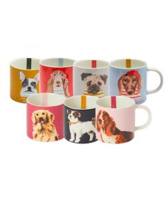 Joules Kitchen Cuppa Porcelain Printed Mug