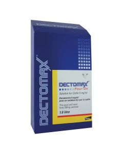 Dectomax Pour-on Wormer for Cattle - Cheshire, UK