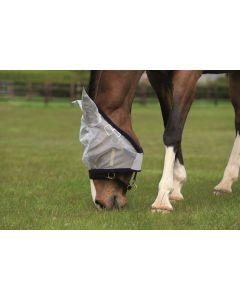 Horseware Amigo Fine Mesh Fly Mask Silver/Navy
