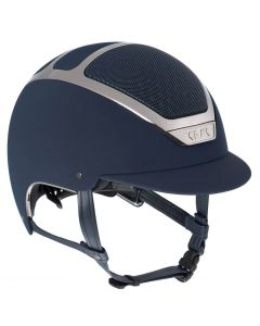 KASK Dogma Chrome Light Riding Helmet Navy/Silver
