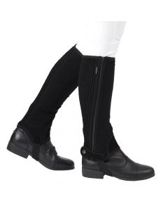 Dublin Childs Easy-Care Half Chaps - Chelford Farm Supplies