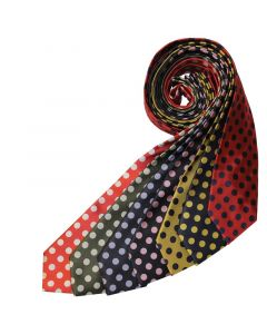 Equetech Adults Spotty Show Tie