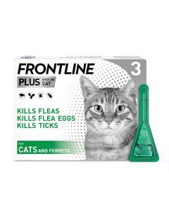 Frontline Plus Spot On Flea Treatment For Cats