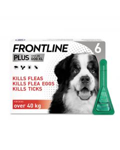 Frontline Plus Spot On Flea Treatment For XL Dogs