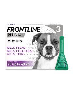 Frontline Plus Spot On Flea Treatment For Large Dogs