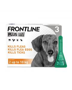 Frontline Plus Spot On Flea Treatment For Small Dogs