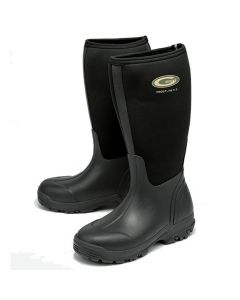 Grubs Frostline Neoprene Wellington Boots Black