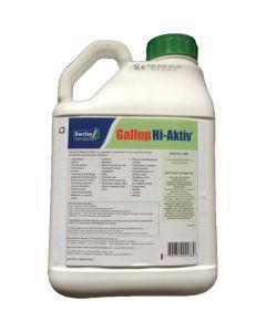 Barclay Gallup Hi-Aktiv 490 Glyphosate Weed Killer 5 litre