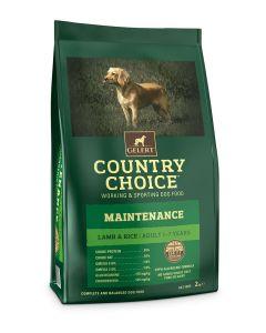 Gelert Country Choice Maintenance Lamb & Rice Dog Food 2kg