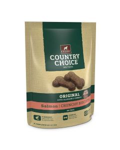 Gelert Country Choice Salmon Dog Biscuit Treats 225g - Chelford Farm Supplies