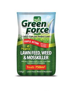 Greenforce Lawn Feed, Weed and Mosskiller 15kg - Cheshire, UK