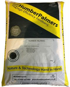 Humber Palmers No 12 Spring/Summer Fertiliser 25kg - Cheshire, UK