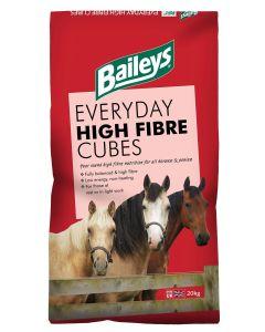 Baileys Everyday High Fibre Cube Horse Feed 20kg