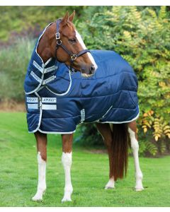 Horseware Amigo Medium 200g Insulator Plus Stable Rug Navy/Silver