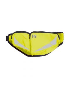Hy Equestrian HyVIZ Reflector Bum Bag Yellow - Chelford Farm Supplies