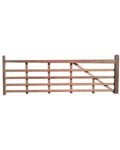 Keruing Timber Entrance Gate