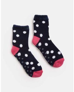 Joules Ladies Cabin Intarsia Warm Socks