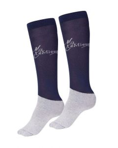 LeMieux Competition Socks Pack Of 2 Navy