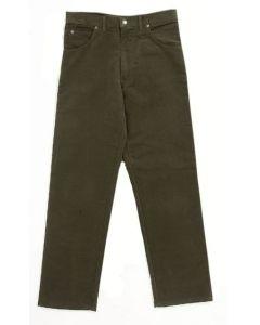Hoggs of Fife Moleskin Trousers Dark Olive