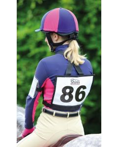 Shires Number Bib Black