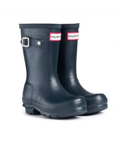 Hunter Kids Original Wellington Boot Navy