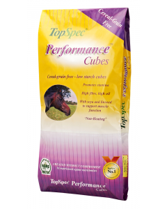TopSpec Performance Cubes Horse Feed 20kg