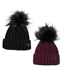 Pikeur Bobble Hat With Faux Fur Bobble