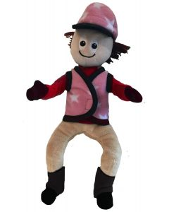 Crafty Ponies Doll Rider Hat Cover and Waistcoat