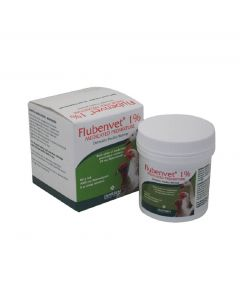Trilanco Flubenvet  Poultry and Game Birds Wormer 60g