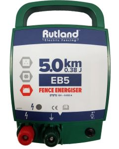 Rutland Electric Fencing EB5 Battery Fencing Energiser - Cheshire, UK