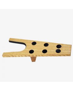 Roma Wooden Boot Jack with Rubber Grip - Chelford Farm Supplies