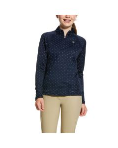 Ariat Girls Sunstopper 2.0 1/4 Zip Baselayer