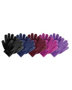 Saddlecraft Adults Magic Riding Gloves Black - Chelford Farm Supplies