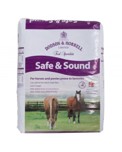 Dodson & Horrell Safe & Sound Horse Feed 18kg