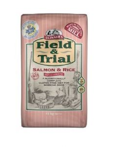Skinners Field & Trial Salmon & Rice Dog Food 15kg