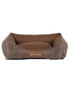 Scruffs Windsor Box Dog Bed Chestnut