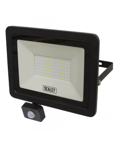 Sealey Extra Slim 100W SMD LED Floodlight with PIR Sensor - Cheshire, UK