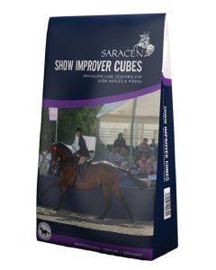 Saracen Show Improver Pencils/Cubes Horse Feed 20kg