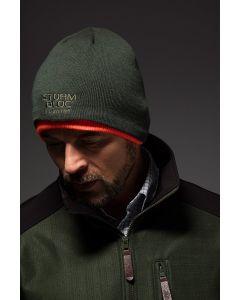 Stormbloc Mens Beck Reversible Beanie Hat Olive