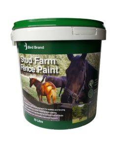 Bird Brand Stud Farm Fence Paint 10L Dark Brown