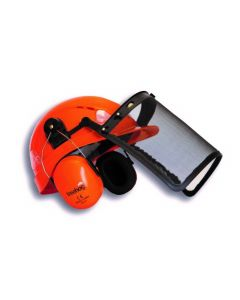 Treehog Forestry Helmet Orange Kit TH300-OR - Cheshire, UK