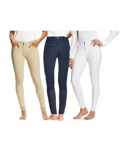 Ariat Ladies Tri Factor Knee Patch Grip Breeches