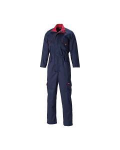 Dickies WD4839W Ladies Redhawk Boilersuit with Zip Front Navy