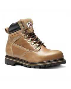V12 Footwear V1244 Mohawk Vintage Leather Safety Boot Tan