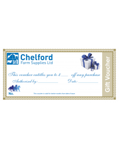 Chelford Farm Supplies Gift Voucher Redeem In Store Only