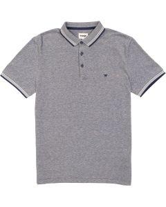 Wrangler Mens Short Sleeve Refined Polo Shirt