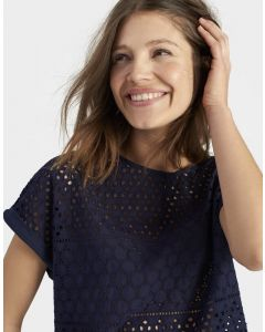Joules Ladies Nadine Top French Navy