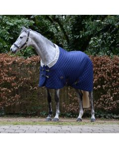 WeatherBeeta ComFiTec Deluxe Diamond Quilt Heavy Stable Rug 400g Navy