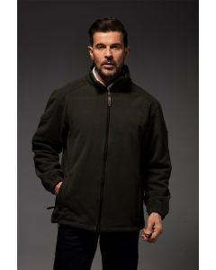 Stormbloc Mens Waterproof Willow Fleece Jacket Olive