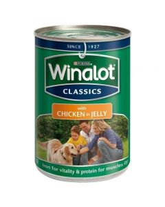 Winalot Classic Chunks in Jelly Dog Food Pack 6 x 400g